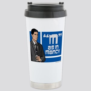 Archer Mancy Stainless Steel Travel Mug