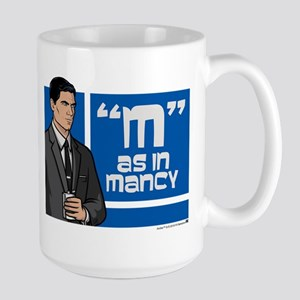 Archer Mancy Large Mug