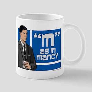 Archer Mancy Mug