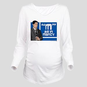 Archer Mancy Long Sleeve Maternity T-Shirt