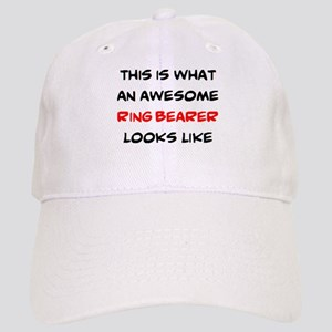 awesome ring bearer Cap