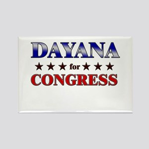 DAYANA for congress Rectangle Magnet