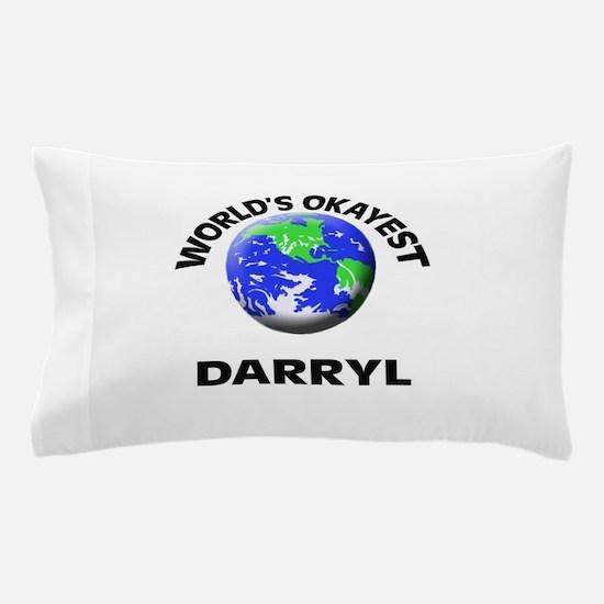 World's Okayest Darryl Pillow Case
