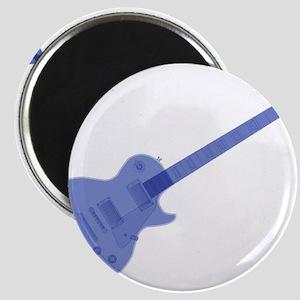 Solid Blue Guitar Magnets