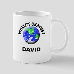 World's Okayest David Mugs