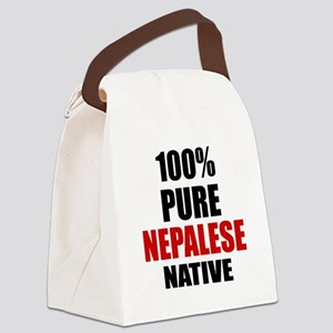 100 % Pure Nepalese Native Canvas Lunch Bag