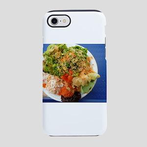 Hawaiian poki bowl salad Jap iPhone 8/7 Tough Case