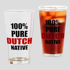 100 % Pure Dutch Native Drinking Glass