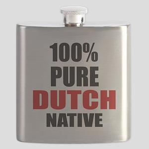 100 % Pure Dutch Native Flask