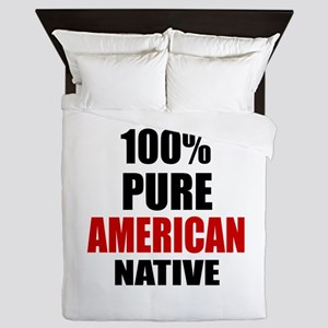 100 % Pure American Native Queen Duvet