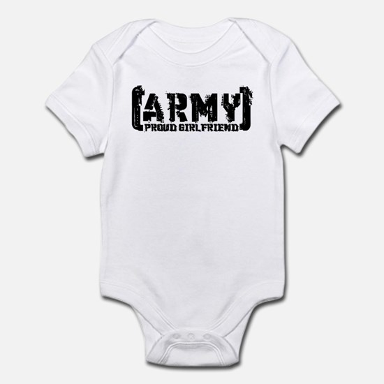 Proud Army GF - Tatterd Style Infant Bodysuit