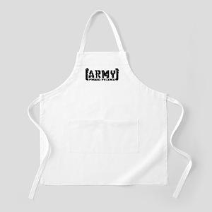 Proud Army Friend - Tatterd Style BBQ Apron