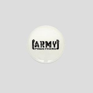 Proud Army Friend - Tatterd Style Mini Button