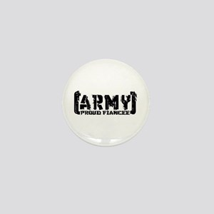 Proud Army Fiancee - Tatterd Style Mini Button