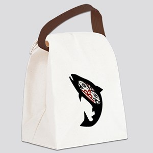 SALMON Canvas Lunch Bag