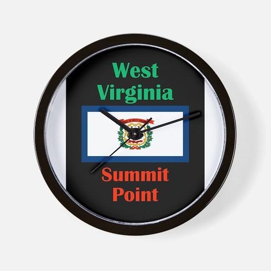 Summit Point West Virginia Wall Clock