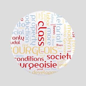 Communist Manifesto Word Cloud Button