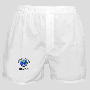 World's Okayest Devan Boxer Shorts