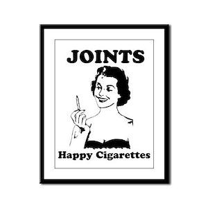 Joints Framed Panel Print