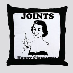 Joints Throw Pillow