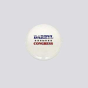 DARRYL for congress Mini Button