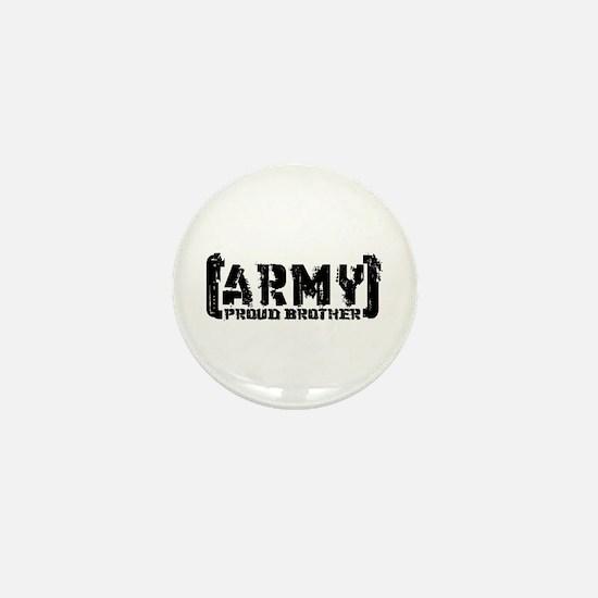 Proud Army Bro - Tatterd Style Mini Button