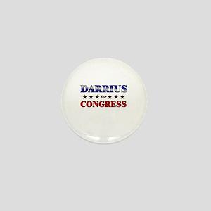 DARRIUS for congress Mini Button