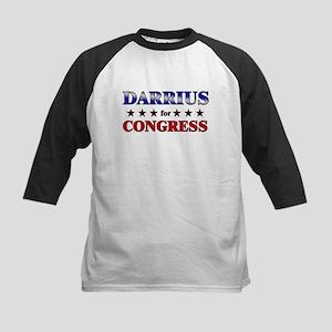 DARRIUS for congress Kids Baseball Jersey