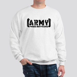 Proud Army BF - Tatterd Style Sweatshirt