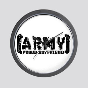 Proud Army BF - Tatterd Style Wall Clock