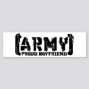 Proud Army BF - Tatterd Style Bumper Sticker