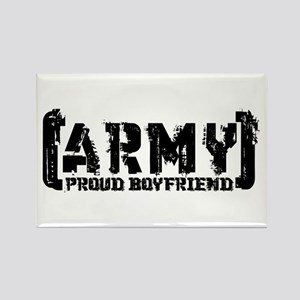 Proud Army BF - Tatterd Style Rectangle Magnet