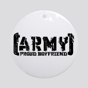 Proud Army BF - Tatterd Style Ornament (Round)