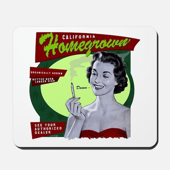 CA Homegrown Mousepad