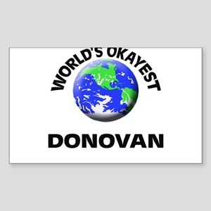 World's Okayest Donovan Sticker