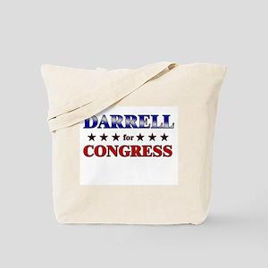 DARRELL for congress Tote Bag