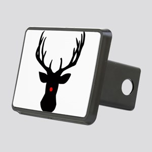 Christmas reindeer with a Rectangular Hitch Cover