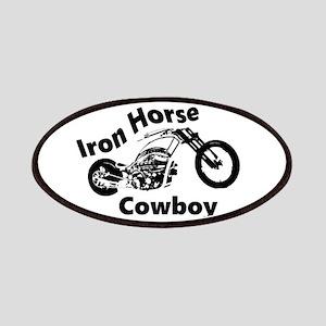 Iron Horse Cowboy Biker Patch