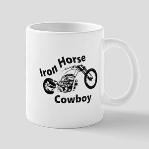 Iron Horse Cowboy Biker Mugs