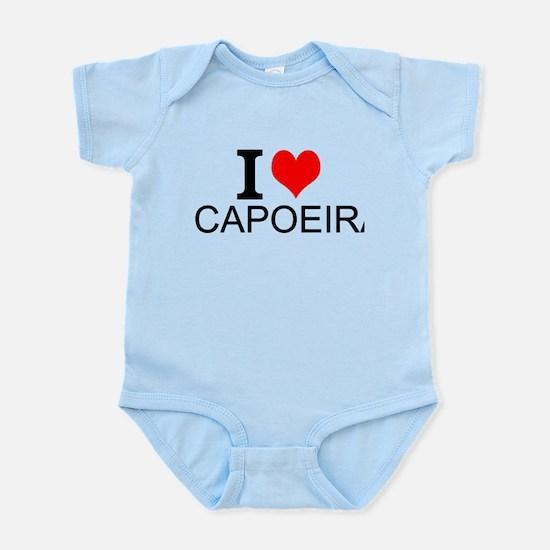 I Love Capoeira Body Suit