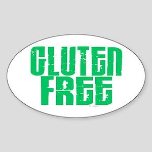 Gluten Free 1.1 (Mint) Oval Sticker
