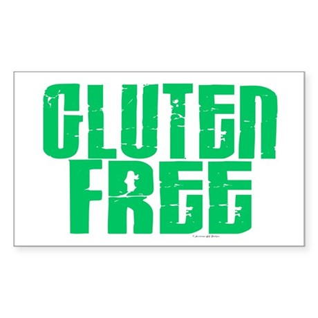 Gluten Free 1.1 (Mint) Rectangle Sticker