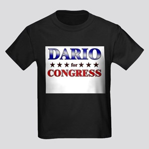 DARIO for congress Kids Dark T-Shirt