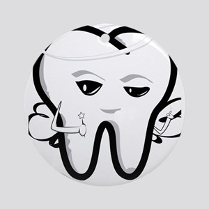 Tooth Fairy Round Ornament