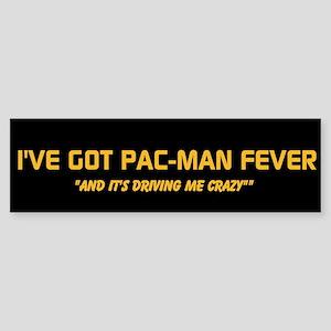 Pac-Man Fever Bumper Sticker Bumper Sticker