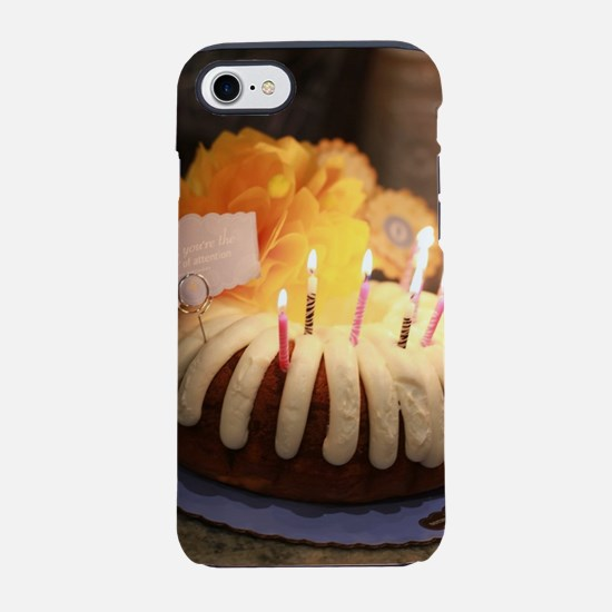 birthday bundt cake iPhone 8/7 Tough Case