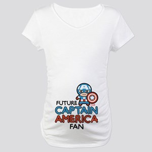 Future Captain America Fan Maternity T-Shirt