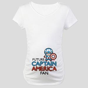 Future Captain America Fan Maternity T-Shirt