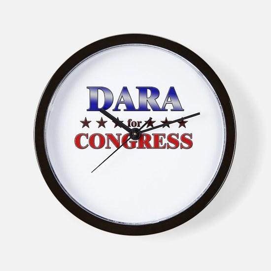 DARA for congress Wall Clock