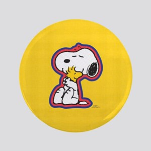 Peanuts Flair Snoopy Button